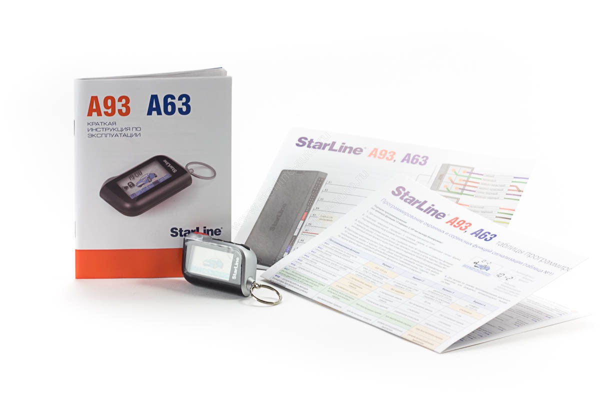 StarLine A93 CAN LIN GSM