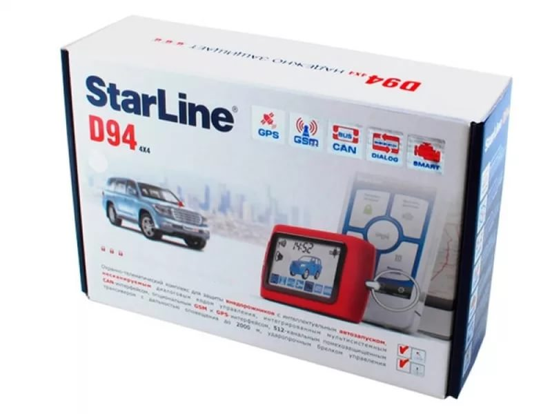 StarLine D94 2CAN GSM\GPS