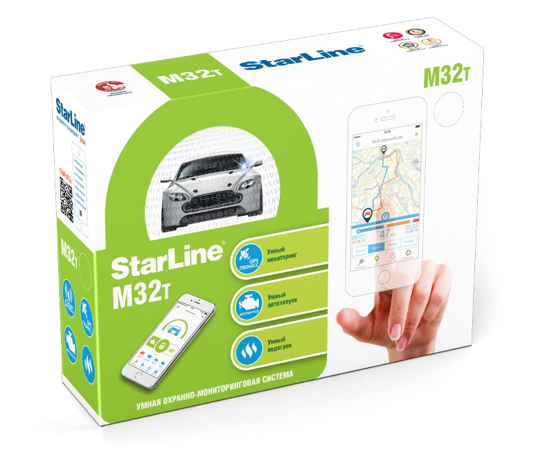 StarLine M32 CAN LIN T
