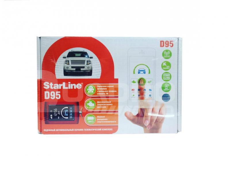 StarLine D95 BT CAN+LIN GSM